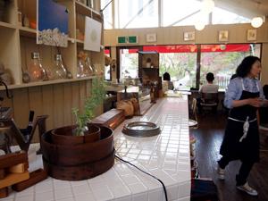 CAFE M 店内
