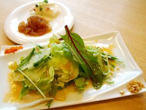 かんざし ランチセットの前菜・サラダ