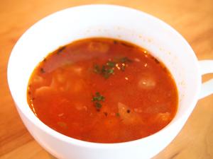 オープンカフェ ゆんたく ランチスープ