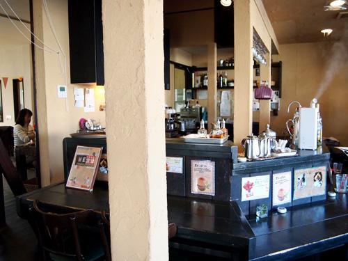 ケパサ カフェ カウンター