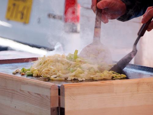 山神宮祭典(お天狗さん)富士宮焼きそば