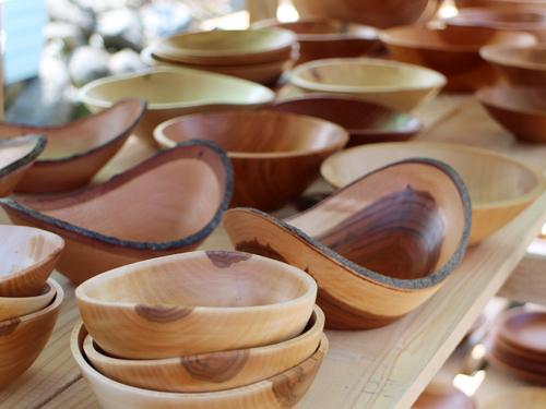 Yamanashi Fringe Market 木の器