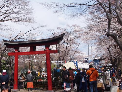 Yamanashi Fringe Market メイン会場