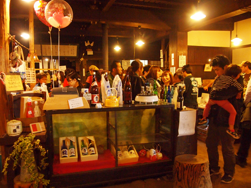 酒蔵マーケット 酒カウンター