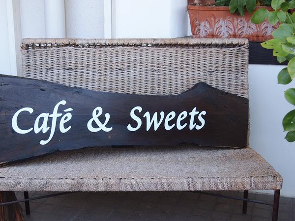 カフェ ペタル 看板