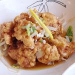 南平飯店 主菜 油淋鶏