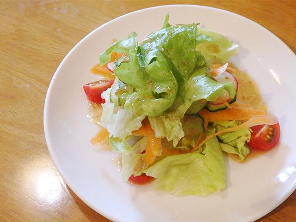 メリクリ ランチ サラダ