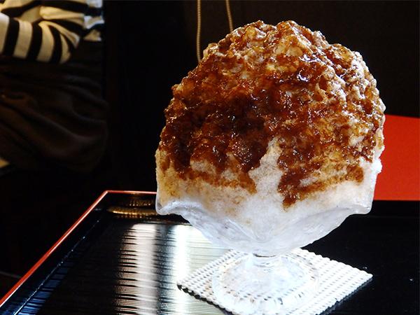 信水堂 リッチなコーヒーミルクかき氷