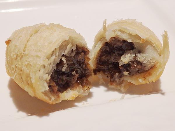 蘭園 飲茶コース 炸点心三種 牛肉餡入りさくさくパイ