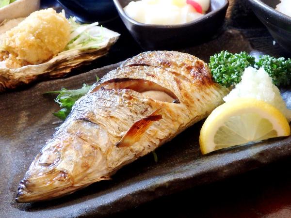 ○九 焼き魚