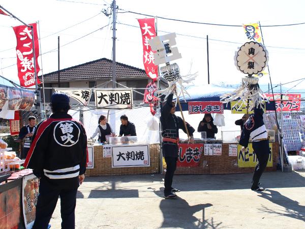 山神宮祭典 纏