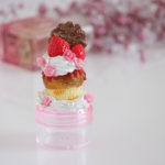 YUMEDECO カップケーキ プチケース【1点もの】