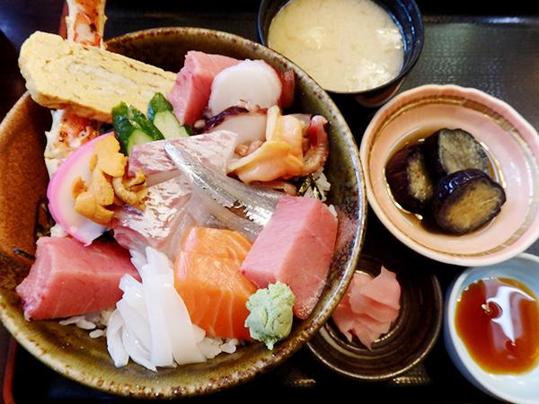 割烹 友 海鮮丼