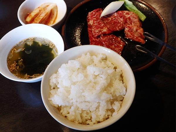 燦火肉 焼肉定食
