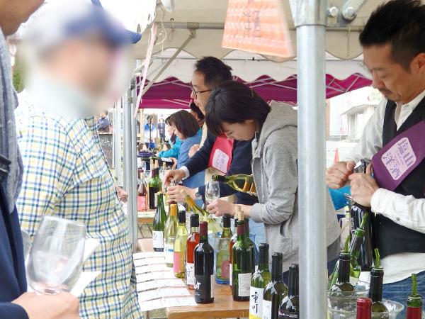 塩ノ山ワインフェス 醸造所ブース