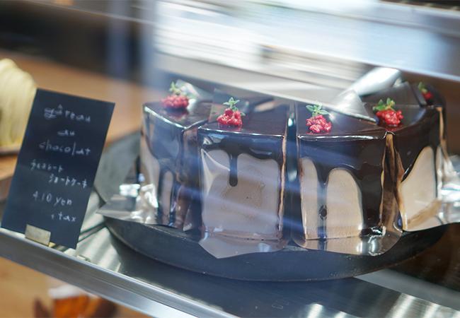 vingt-cinq チョコレートショートケーキ