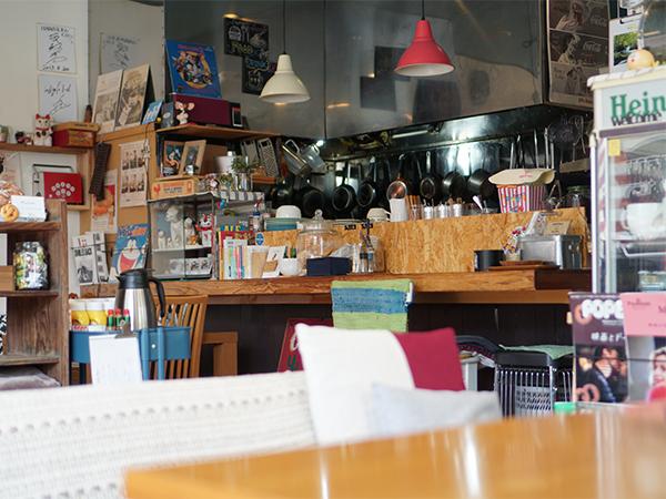 ハラペコカフェ 店内
