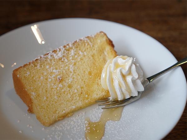 ハラペコカフェ シフォンケーキ