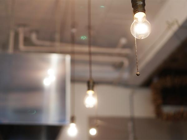 サンデイズフード 照明