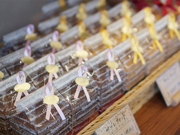 フランス菓子の店 巴里 焼き菓子