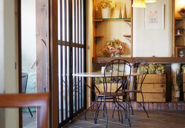 café pétale 店内
