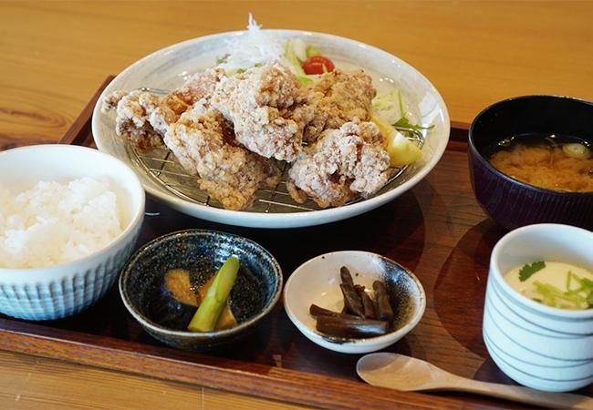 和食海鮮 ぎん から揚げ定食
