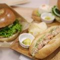 Cafe Back Country ハンバーガーとサンドイッチ