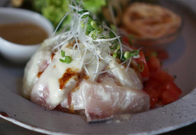 肴や くうかい ランチ カルパッチョ海鮮丼