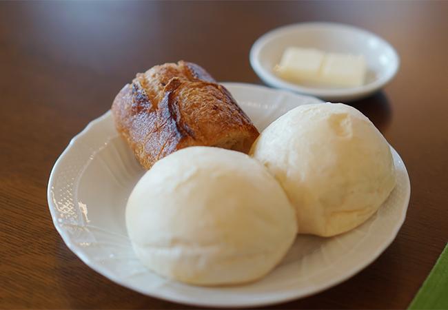 レストランテ 風 ランチ アルガ グレーリャ セットA パン