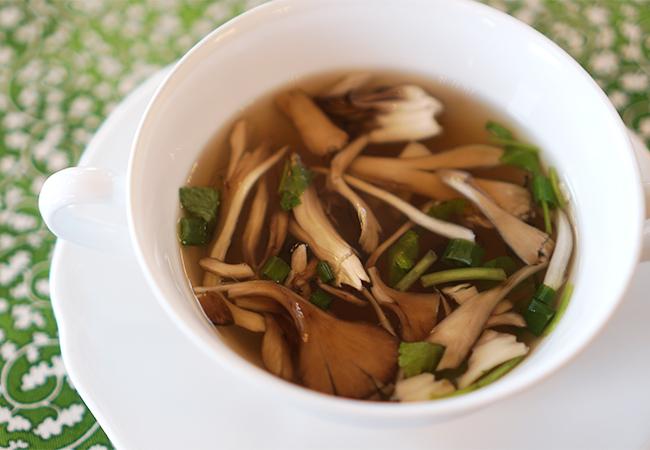レストランテ 風 ランチ アルガ グレーリャ セットA スープ