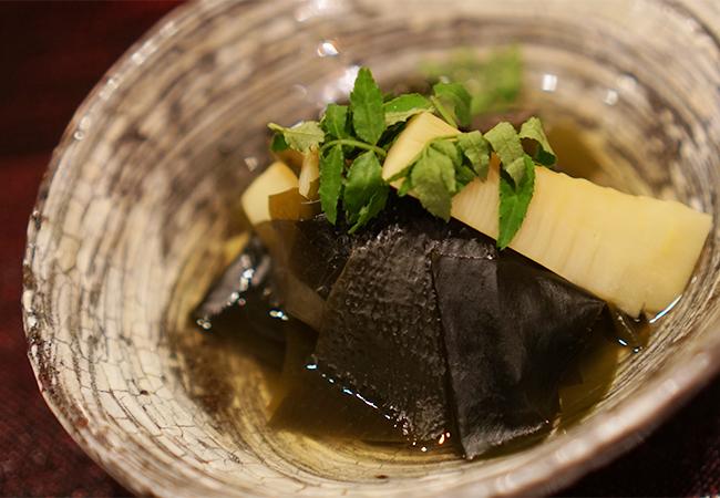もちづき コース 煮物(若竹煮)