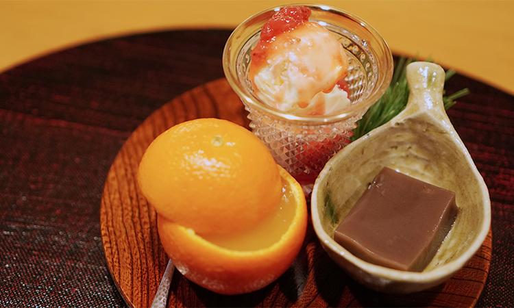 もちづき コース 水菓子、甘味