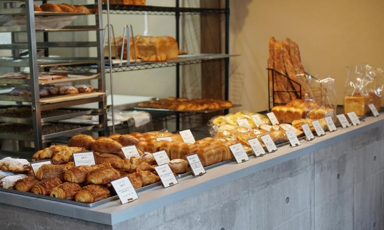 製パン 麦玄 店内