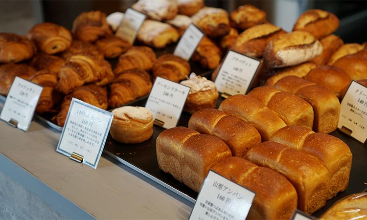 製パン 麦玄 パン