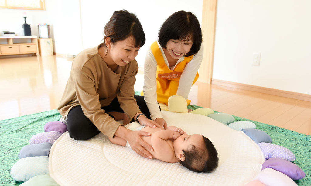 産後の1ヶ月は「産後デイケア」でママをサポート